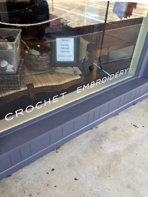 window lettering