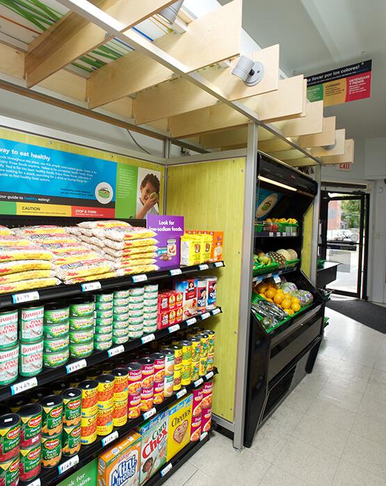 Fresh Corner kiosk
