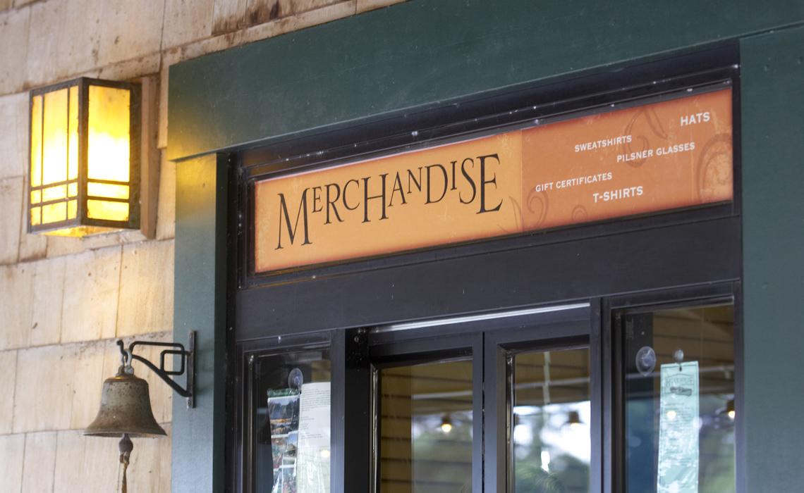merchandise window graphic